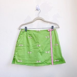 Lilly Pulitzer | Dragonfly Bow Mini Skirt
